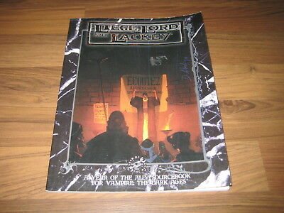 Vampire The Dark Ages Liege, Lord and Lackey Sourcebook 1997 White Wolf WW 2806