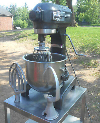 Hobart A200 20 Qt Commercial Stand Mixer 1/3Hp + 2 Bowls Paddle Dough Hook Whisk