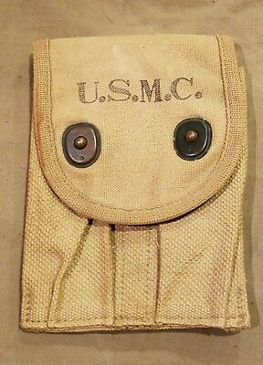 USMC 1911 WWI magazine pouch Un-Issued (1918 Dated)
