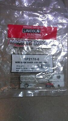 NEW Lincoln Electric KP2178-6 Inner Wire Guide Assembly 2 Roll for Wire Feeders