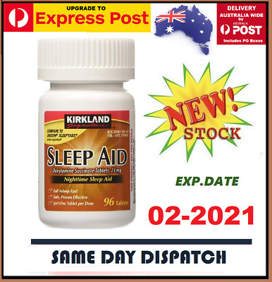 Kirkland Sleep Aid Doxylamine Succinate 25 Mg Choose Size