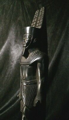 ANCIENT EGYPTIAN STATUE ANTIQUITIES Egypt Pharaohs King Amun Luxor Stone BC