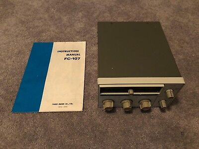 Yaesu Fc-107 Antenna Tuner - Match The Fc-107 Transceiver White Series (As Is)