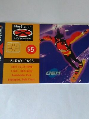 $5 used chip phonecard Xtreme