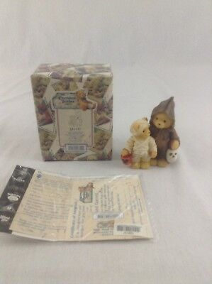 1999 Cherished Teddies A Haunting We Will Go Halloween Figurine #534137 Bears