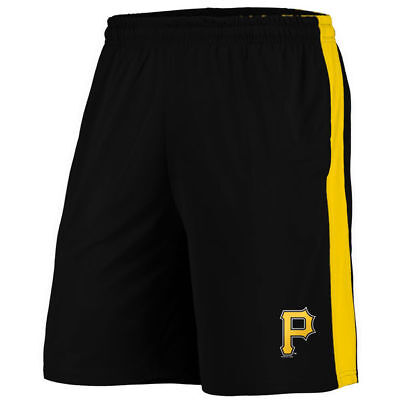 MLB Pittsburgh Pirates LGE Polyester Training Shorts by Fanatics