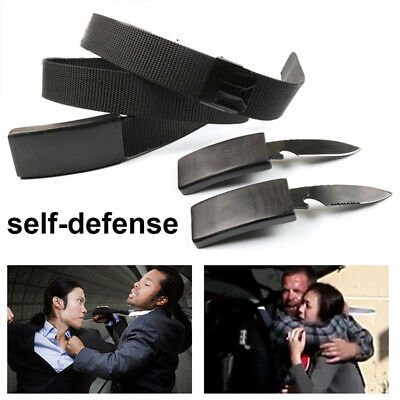 Portable Gear Escape Urgency Self Defense Emergency Situations Belt and Cut