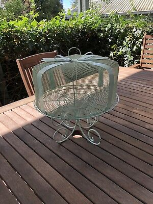 Vintage Painted Wire Cake Rack/ Stand