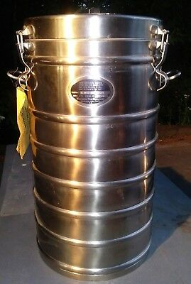 Thermal Food Carrier Aer-Void 1X10 Insulated Food Container W/ 4 S/S Pots