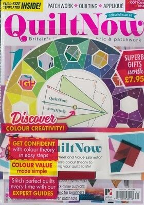 Today S Quilter Uk Magazine Issue 44 17 Free Gifts Color Wheel