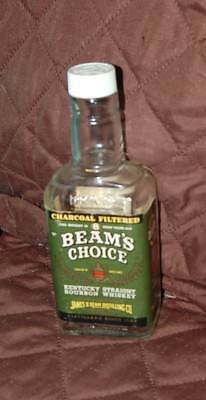 BEAMS CHOICE 1/2 Pint Glass  Bottle - EMPTY