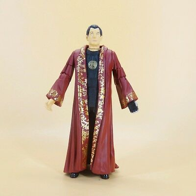 """Doctor Dr Who THE NARRATOR action figure old 5.5"""" loose"""