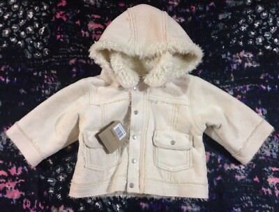 Timberland Baby Boys Hooded Jacket 6 Months New