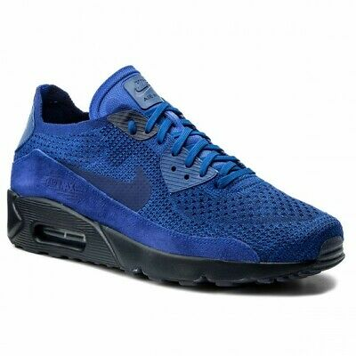 Nike Air Max 90 Ultra 2.0 Flyknit 875943 402 Racer Blue college Navy deep 84abb5430