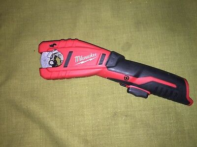 Milwaukee 2471-20 Copper Tubing Cutter. Dated 2017