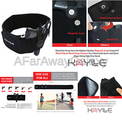 Kaylle Belly Band Holster for Concealed Carry Hunting