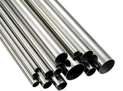 6Pcs Stainless Steel Tube OD 8mm x 6mm ID Wall Thick 1.0mm Length 700mm