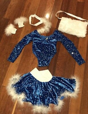 Girls Dance Costume (Ice Skating Theme)