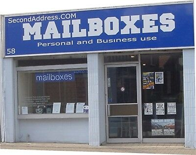 Mailboxes and Mail Services business name, SecondAddress.COM.