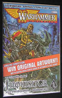 Warhammer Monthly Comic #11 (Black Library) Z1 - Inquisitor, Dwarflords