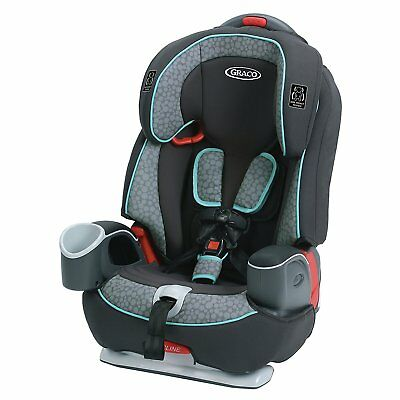 New Graco 1946243 Nautilus 65 3-in-1 Harness Booster Car Seat Sully