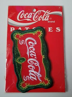Original Vintage Coca-Cola Patch/Aufnäher - USA 1995  *OVP*