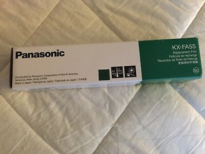Panasonic KX-FA55 Replacement Film 2-Roll Value Pack New - sealed packaging