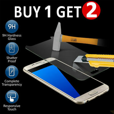 For Samsung Galaxy S7 - 100% Genuine Tempered Glass LCD Screen Protector Film