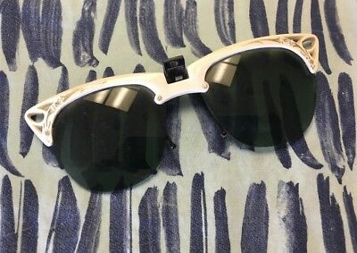 f92e0b2f486 BLACK   WHITE Cat Eye Vintage Sunglasses - Dream Lover -  20.00 ...