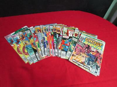 Marvel Comics GHOST RIDER COMICS LOT OF 19 ISSUES YEARS 1974-1983