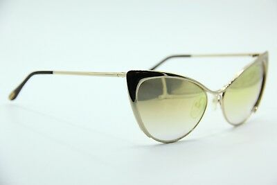 53f7a4a078db2 New Tom Ford Tf 304 28G Nastasya Gold Gradient Authentic Sunglasses W case  56-