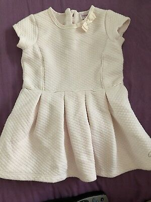 Baby Girls 9-12 Months Ted Baker Pink Quilted Dress