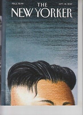 Kim Jong Un The New Yorker Magazine September 18 2017 No Label Warhead