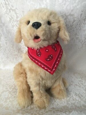Joy for All Golden Pup Companion Pet Realistic Lifelike Interactive Dog