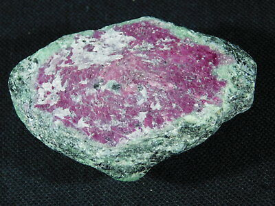 A BIG! 100% Natural Red RUBY Crystal In Green Zoisite Matrix! Tanzania 146gr e