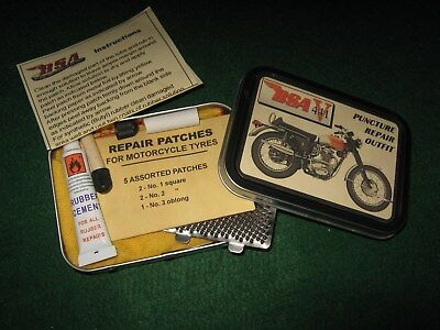 Bsa Victor 441 Classic Motorcycle Puncture Repair Outfit