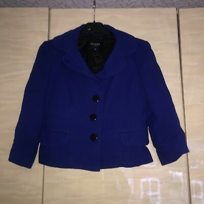 Womens Hobbs 10 Blue Suit (Top And Skirt)