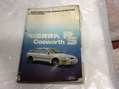 Manuale Ford Sierra Cosworth Rs