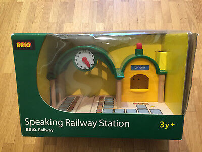 BRIO 33680 S-Bahnhof - OVP - wie NEU TOP - Speaking Railway Station