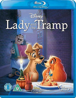 Lady and the Tramp (Blu-ray, Disney, Region Free) *BRAND NEW/SEALED*