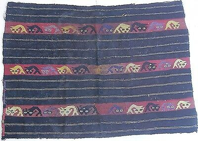 Pre-Columbian Textile, Museum Quality Ancient Peruvian Weaving