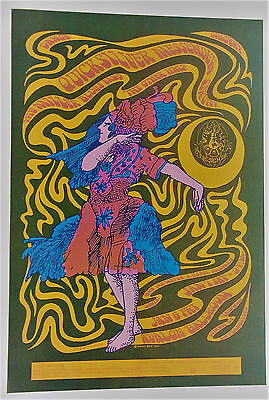 Quicksilver Messenger Service, Family Dog FD-42-0p1 Original 1967 Concert Poster