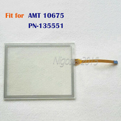 1PC New Touch Screen Glass for AMT10675  AMT 10675  PN-135551 180 days Warranty