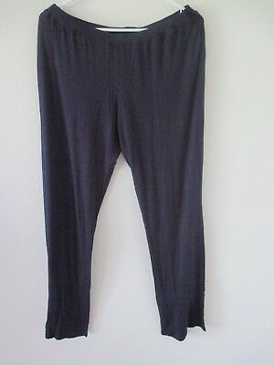 MOTHERHOOD Bump in the Night RAYON Sleep Pajama Maternity Pants DARK BLUE Medium