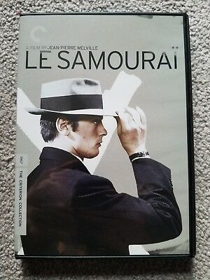 Le Samourai (DVD, 2005, Criterion Collection) like new!