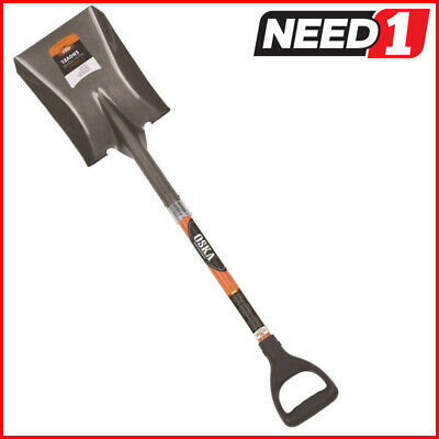 OSKA Square Mouth Shovel with Fibreglass Handle. Available in Packs of 2 & 4.