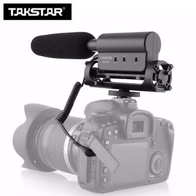 TAKSTAR SGC-598 PORTABLE VIDEOMIC SHOTGUN VIDEO MICROPHONE FOR Audio CAMERA DSLR