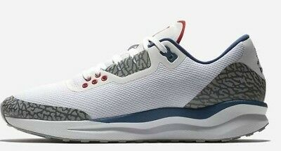 315bd000ca9456 Air Jordan Zoom Tenacity 88 - Size 8.5 AV5878-100 Retro 3 Cement True Blue