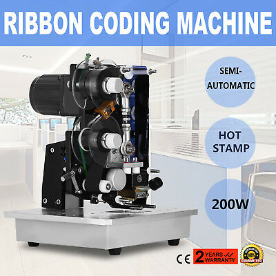 Ribbon Coding Machine 10~100Times/min Different Seal Material Electric 200W