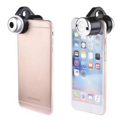 Optical Zoom For Universal  Cell Phone LED Telescope Camera Clip Microscope Lens